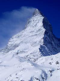 The Matterhorn in Winter