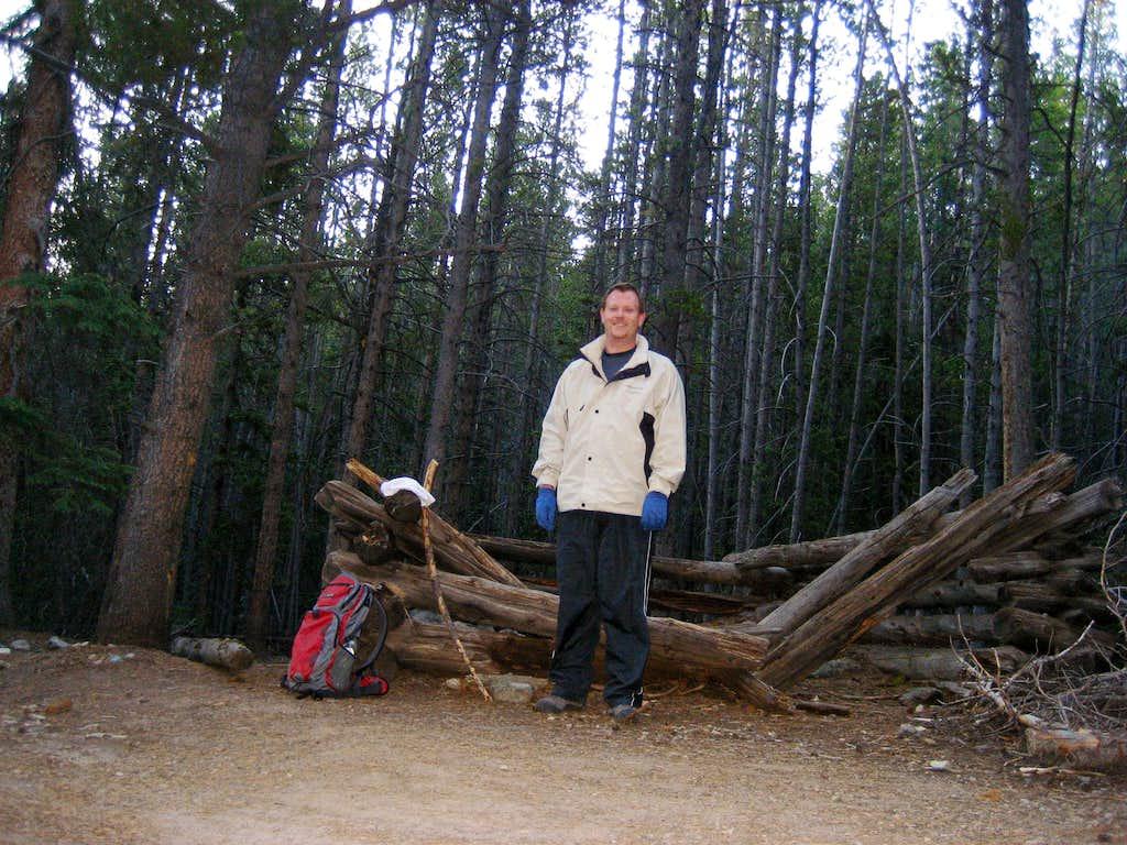 Cabin remnants