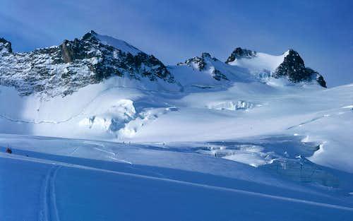 Glaciers de la Girose et Mont de Lans