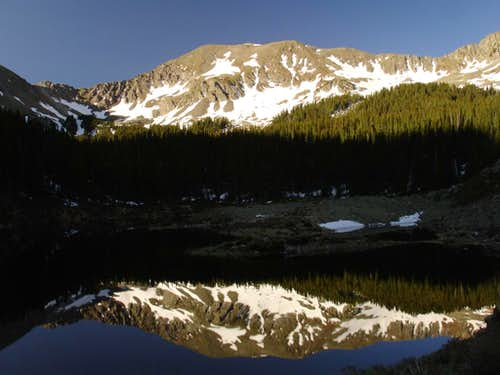 Williams Lake Reflection