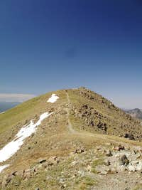 Final Ridge Leading to Wheeler Peak s summit