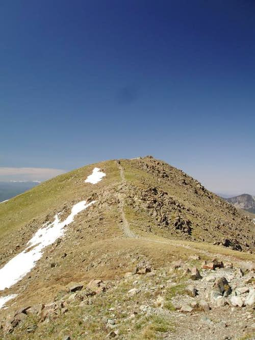 Final Ridge Leading to Wheeler Peak's summit