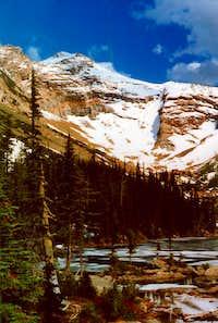 Snowshoe Peak From Snowshoe Lake