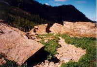 Basin Above Snowshoe Lake