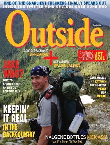 Outside Magazine Cover