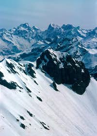 Ecrins - Pic Coolidge