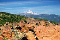 Mt. Shasta and Mt. Eddy