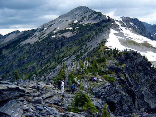 No Name Peak (Lentz Peak?)