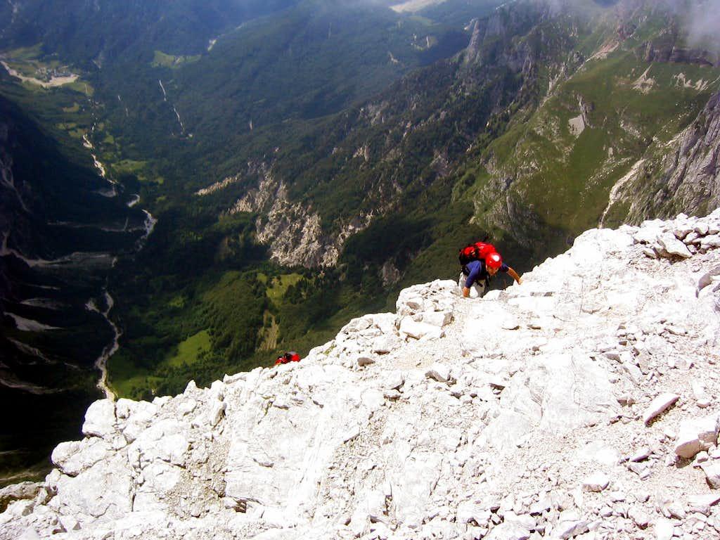 ascending  Jalovec.....