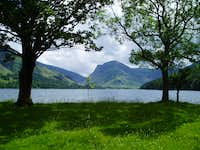 Lake Buttermere and Fleetwith Pike