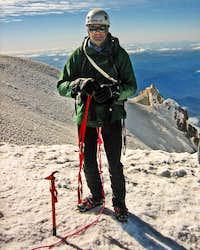Reininger on Mt. Hood