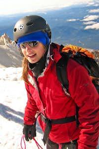Sophie Egan on Mt. Hood