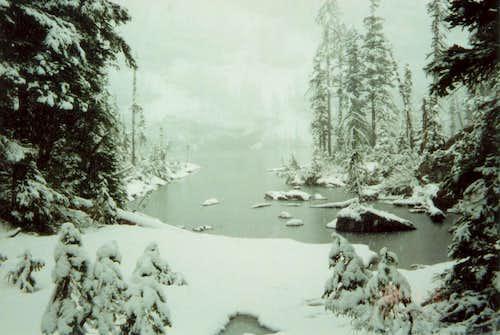 July 4th Snow @ Snowshoe Lake