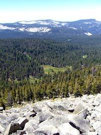 Meadow below Mitchell Peak