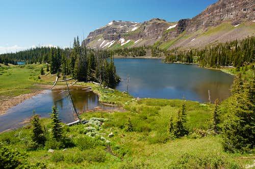 Derby Peak from Hooper Lake