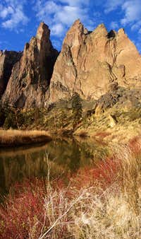 Smith Rock Morning Glow