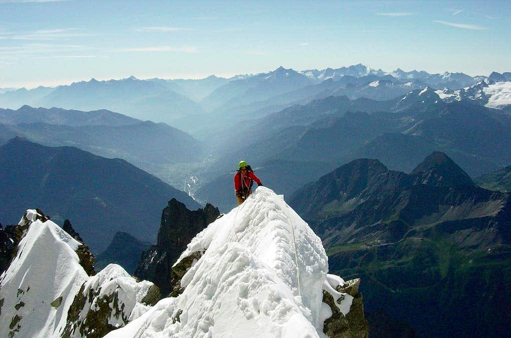 Rahel's last climb