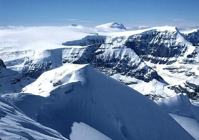 Mount Athabasca, The Silverhorn