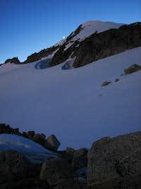 Eldorado Peak from Bivouac at 7400 feet