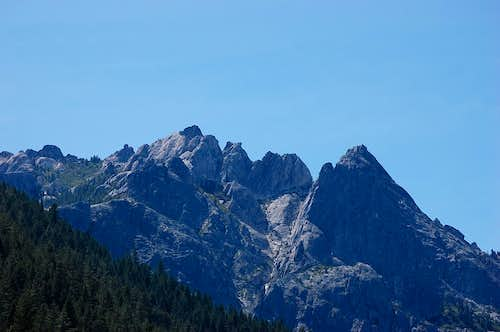 Castle Crags from the east