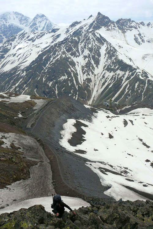 No rock climbing on Elbrus?