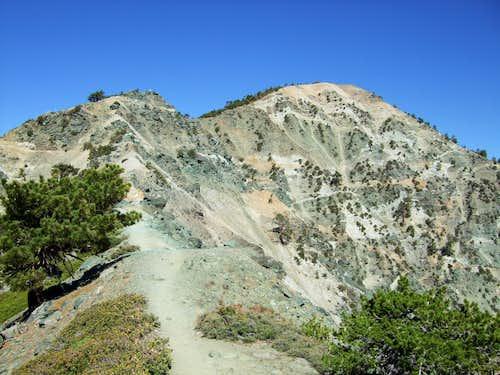 Impressive NE Face of Mount Harwood