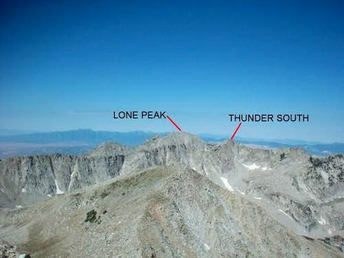South Thunder as seen from...