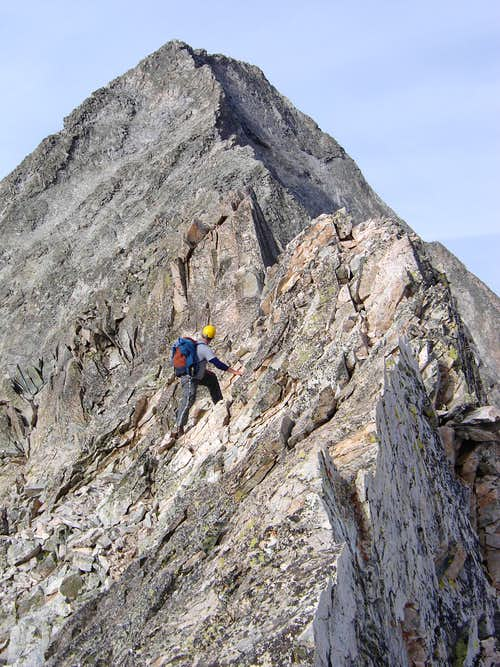 Capitol Peak after Knife Edge