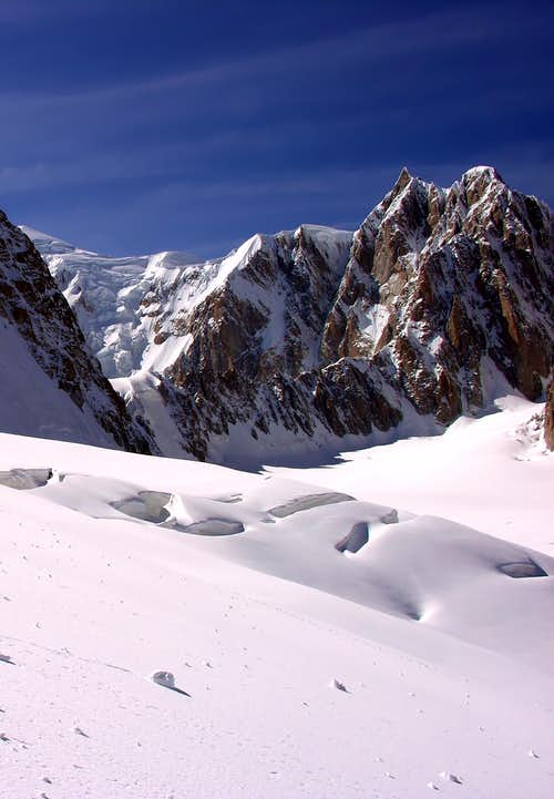 Il Mont Maudit (4465m)