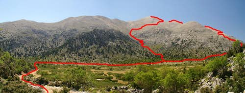 Route Overview Kastro