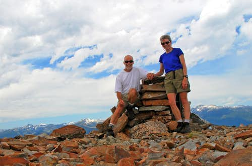 On Piquett Mountain Summit