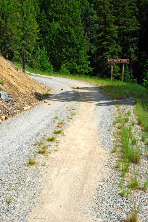 Little Boulder Creek Trailhead