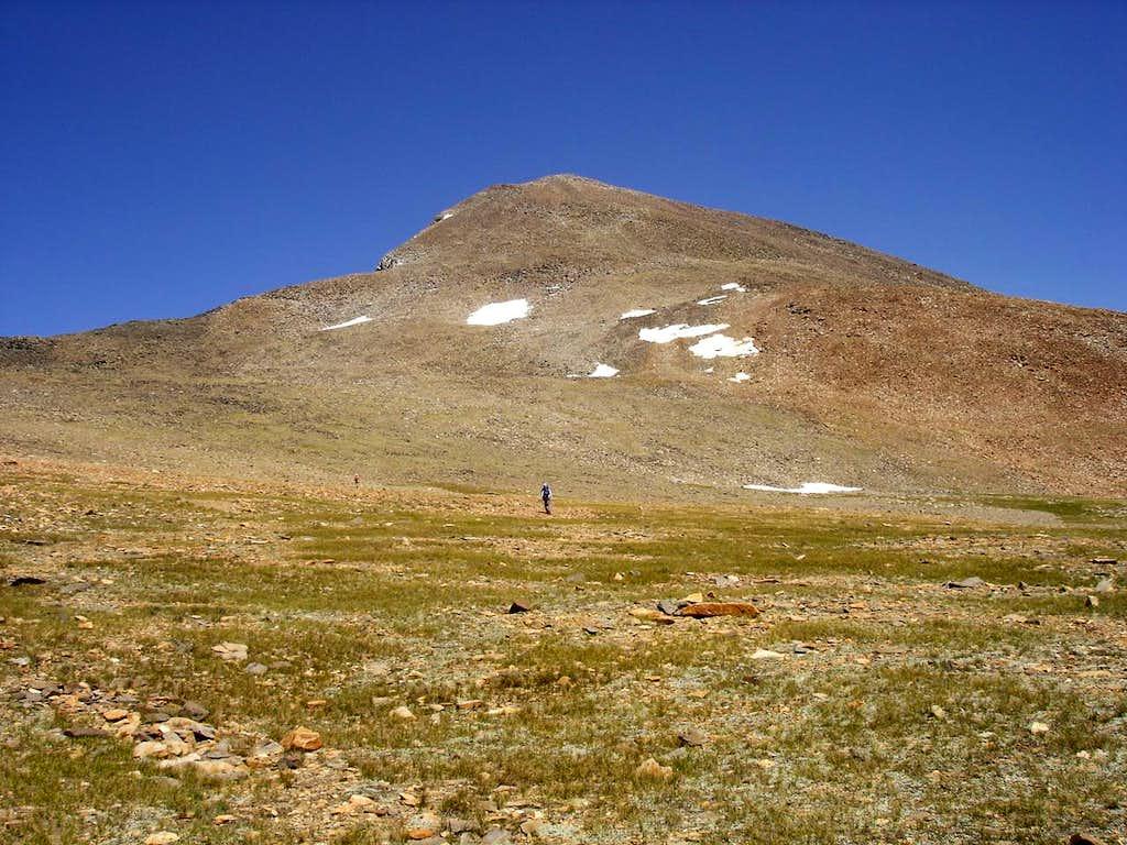 Dana summit from below