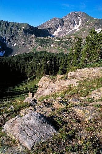 Eureka Peak from the Hermit...