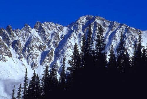 Fletcher Peak in the winter,...