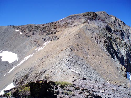 Leavitt Peak\'s NW Ridge