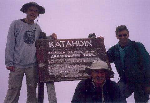 Group pic top Katahdin