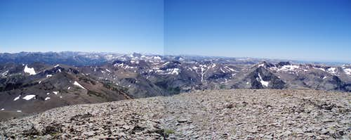 Leavitt Peak Panorama South