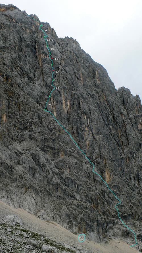 Photo of the Dorothea Wallner Gedächtnis Route