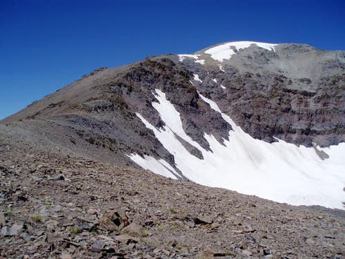 Leavitt Peak\'s SE Ridge