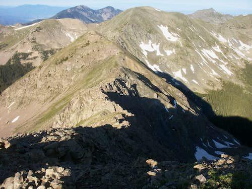 Ridge from Simpson to Bighorn