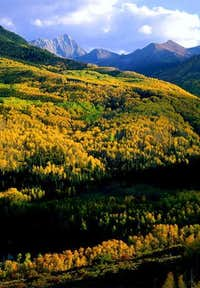 Capitol Peak as seen from the...