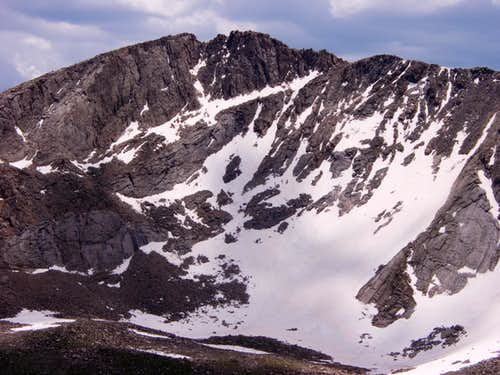 North face of Mount Evans