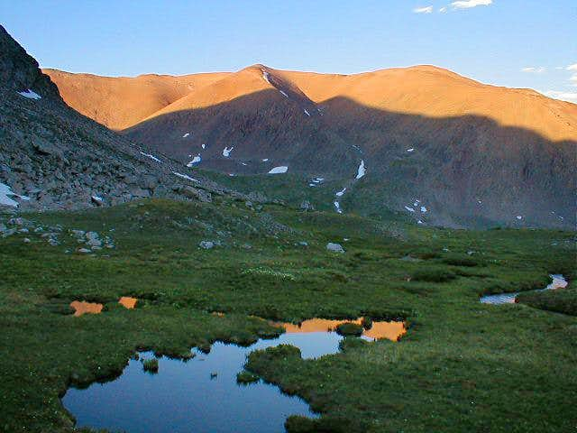 Mt Bross as seen from the...