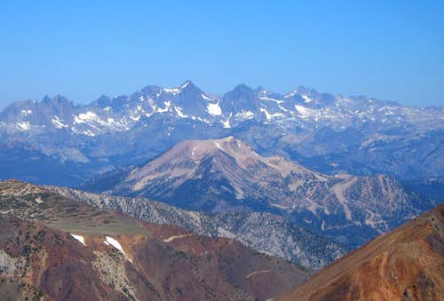 Mammoth and Ritter Range from Morrison