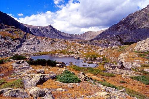 Pacific Peak as seen from...