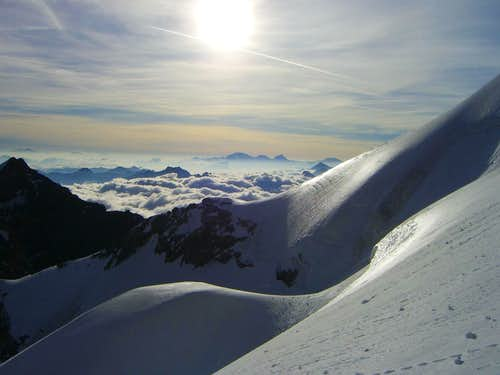 Ortler Group at sunrise