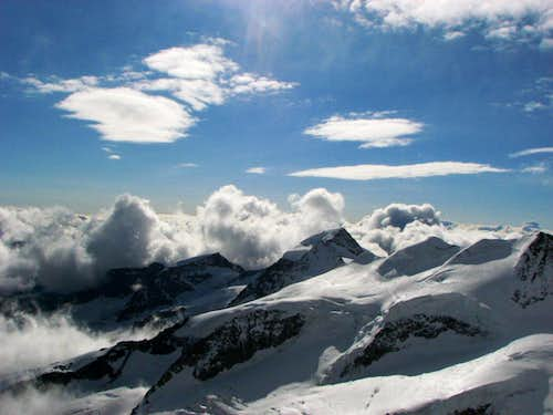 South-Eastern view from Spallaridge of Bernina