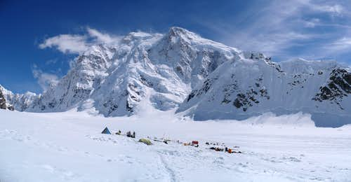 Kahiltna base camp