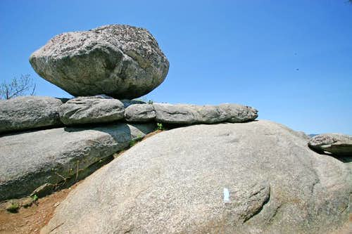 Precarious Bouder-Old Rag Mountain